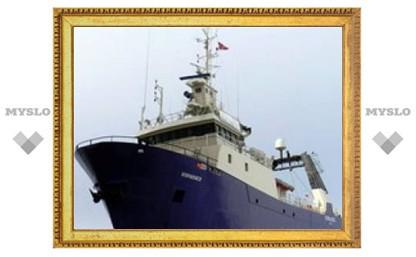 Российский траулер затонул у побережья Норвегии