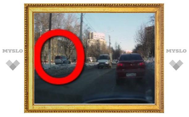 Тульские водители все чаще становятся «трамваями»
