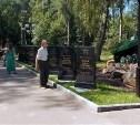 В Новомосковске после реконструкции открыли Аллею памяти