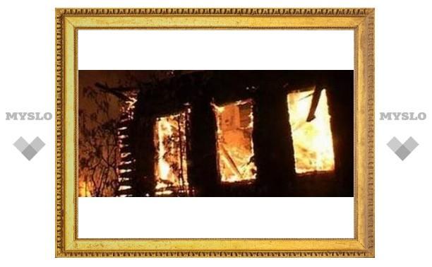 Туляк обгорел, спасая свой дом