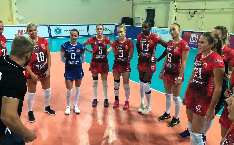 Волейболистки «Тулицы» обыграли казанское «Динамо» со счётом 3:0