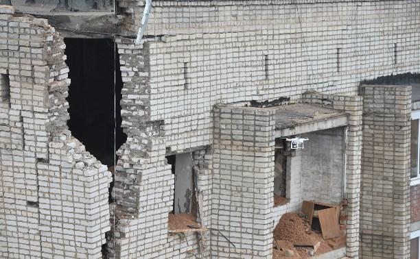 Жители взорвавшегося дома в Ясногорске могут получать компенсацию с 1 апреля