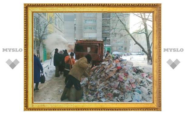 В Туле снова неразбериха с уборкой мусора