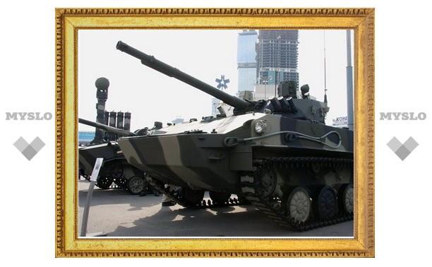Тульские десантники покажут Дмитрию Рогозину бронетехнику ВДВ