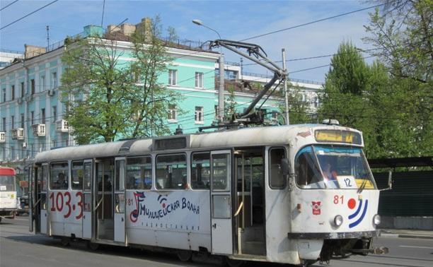 В Заречье перенесли трамвайную остановку «Ул. Луначарского»