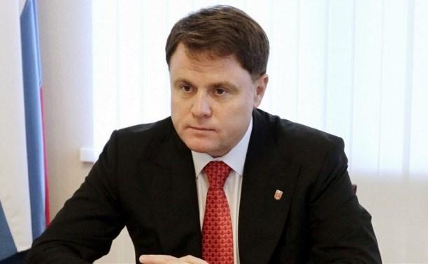 Владимир Груздев запретил ряду тульских чиновников иметь счета за рубежом