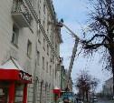 В Туле обследуют дома на предмет уборки наледи с крыш