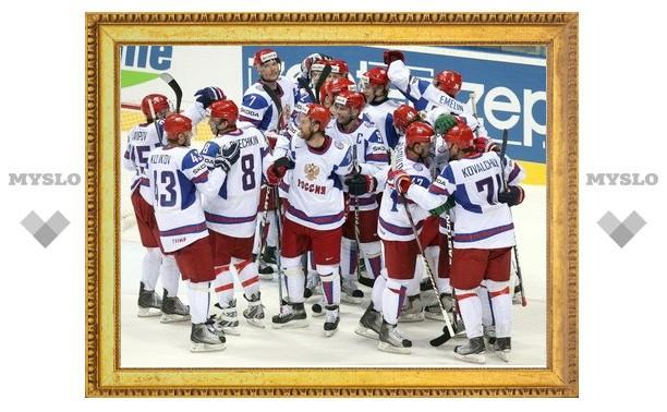 Россия обыграла Канаду на чемпионате мира