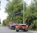 В Пролетарском районе Тулы установят 20 опор освещения и 32 светильника