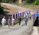 В Тульской области военнослужащие возвели еще один мост для жителей села