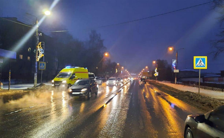 В Щекино водитель сбил двух пешеходов и скрылся
