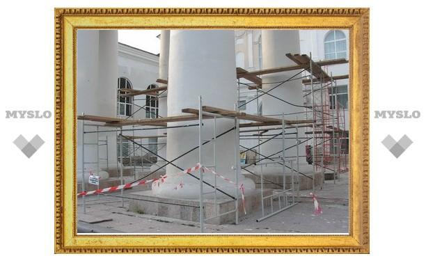 Перед приездом Груздева Кимовск начали приводить в порядок