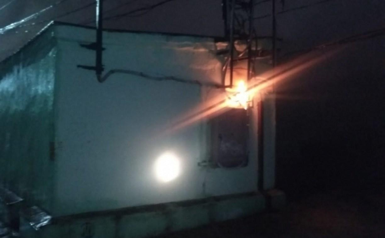 Возгорание трансформаторной подстанции: В Туле без света остались три улицы