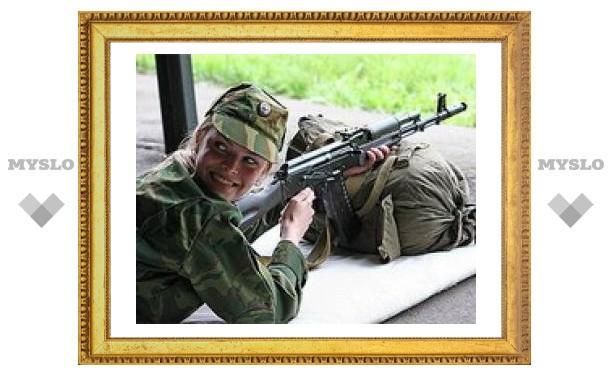 Россиянок обязали явиться в военкомат