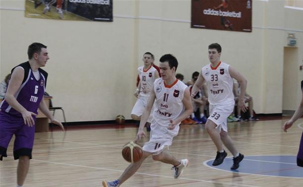 Баскетболисты ТГПУ вышли в зональный финал студенческого чемпионата
