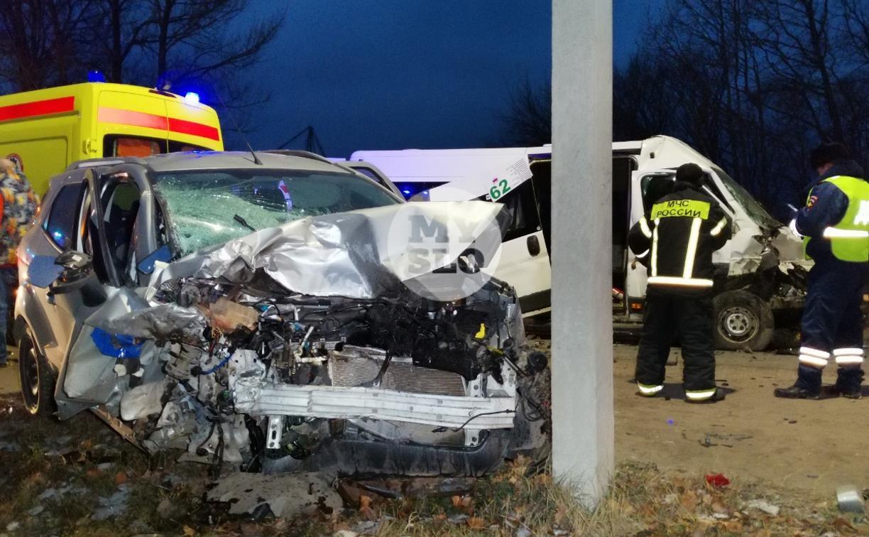Число пострадавших в ДТП с маршруткой в Туле возросло до 10: подробности аварии
