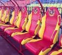 На Центральном стадионе появились новые скамейки запасных