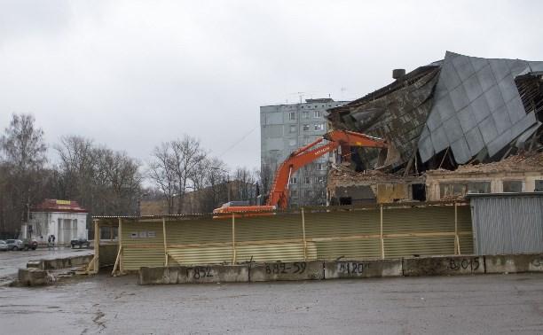 На месте бывшего кинотеатра «Космос» летом построят дом