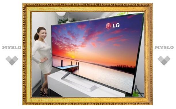 Анонсирован самый большой в мире 3D-телевизор