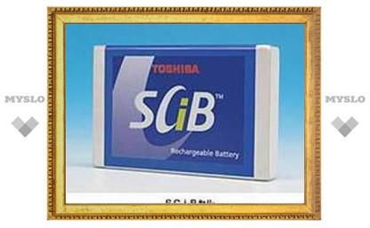 Новые батареи от Toshiba заряжаются за пять минут