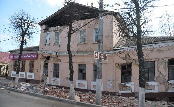 Предполагаемая причина обрушения здания на ул. Октябрьской – размыв грунта