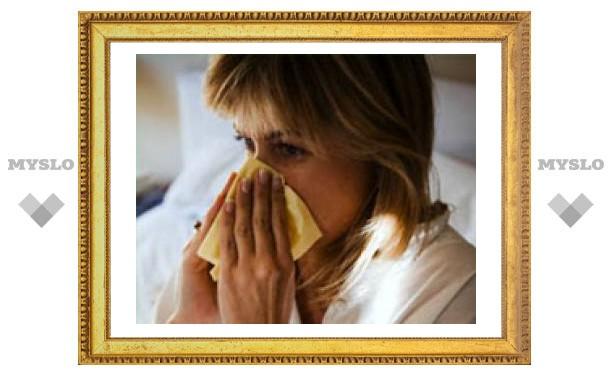 В Тульской области эпидемия гриппа и ОРВИ