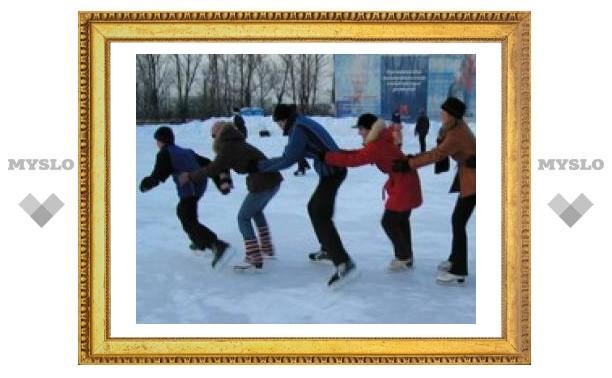 Где в Туле покататься на коньках