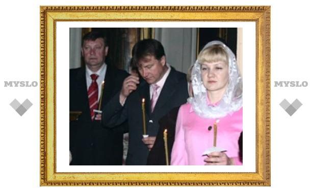 Губернатор посетил пасхальное богослужение