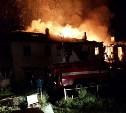 26 августа в Донском сгорело бесхозное здание