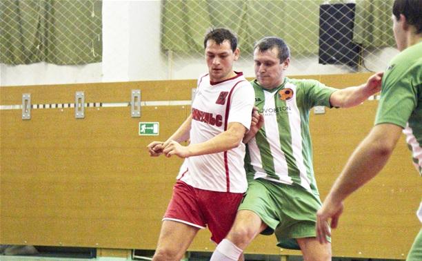 В Тульской лиге любителей футбола состоялся очередной тур