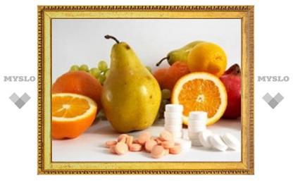Витамины вызывают тягу к здоровому образу жизни