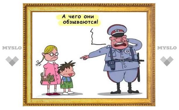 Обматерить сотрудника ППС в Туле стоит 10 тысяч рублей?