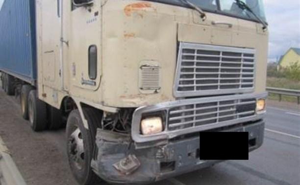 На М-4 «Дон» столкнулись два грузовика