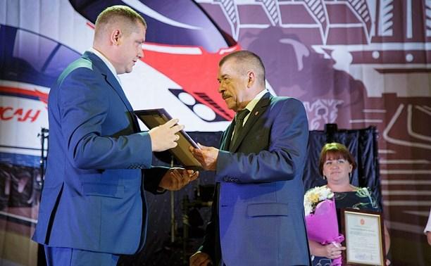 Юрий Андрианов поздравил тульских железнодорожников с профессиональным праздником