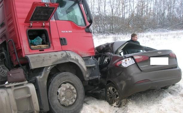 7 января на дорогах Тульской области произошло три ДТП с пострадавшими