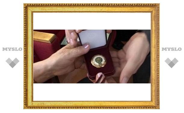 Туляков наградят почетным званием