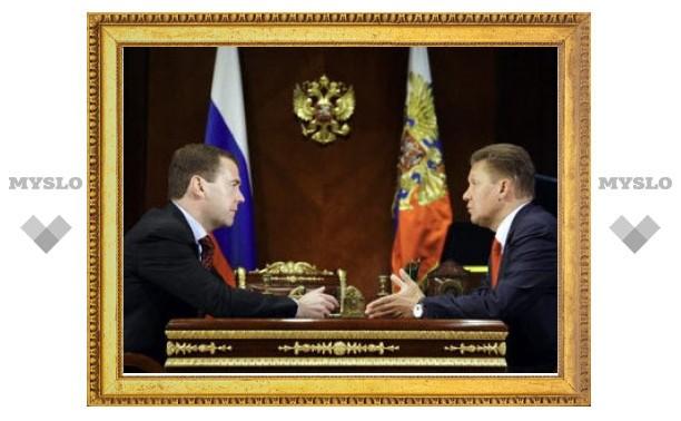 "Медведев поручил ""Газпрому"" соединить трубой обе Кореи"