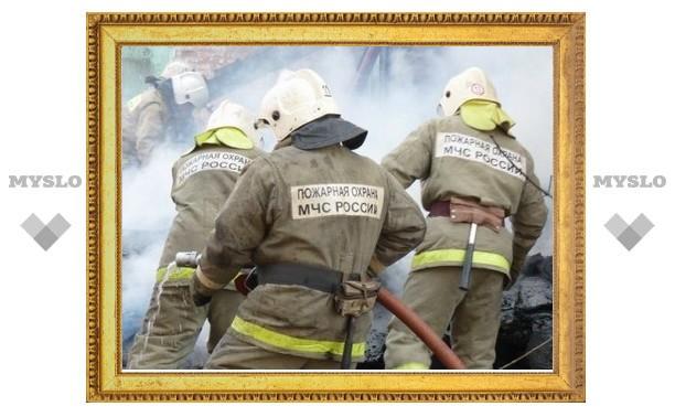В Веневском районе Тульской области сгорел жилой дом