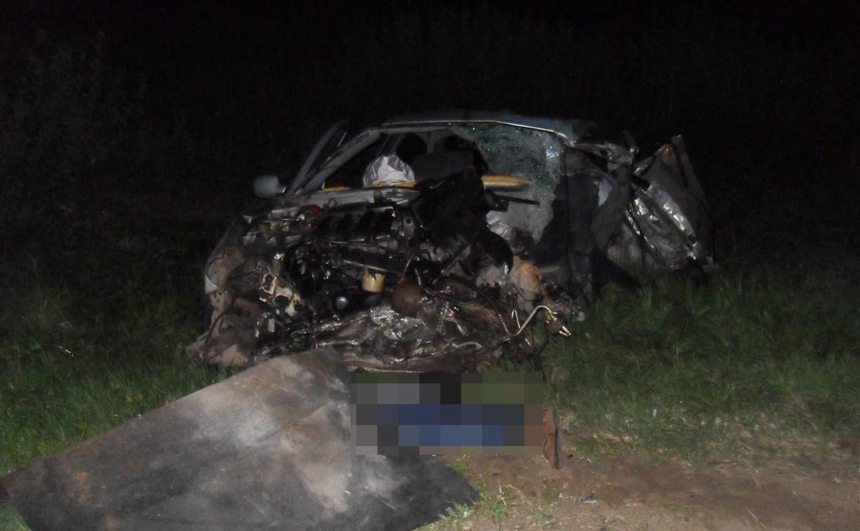 В Тульской области в ДТП с автокраном погиб мужчина