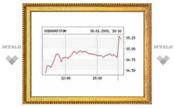 Стоимость бивалютной корзины превысила 40 рублей
