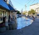 Сотрудники «Тулагорводоканала» устранят коммунальную аварию в центре города