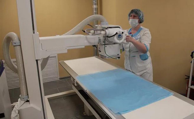 В поликлинике Тульской детской горбольницы установили цифровой рентген-аппарат