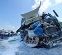Из-за ДТП с колонной МЧС в Тульской области полностью перекрыта трасса «Дон»: фоторепортаж