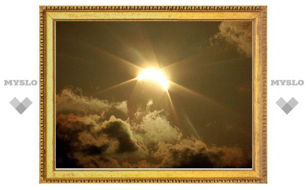 Туляки увидели солнечное затмение