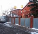 Владельцы коттеджей возле Центрального парка в Туле незаконно захватили землю