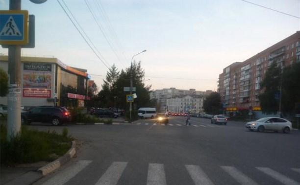 В Туле водитель сбил 13-летнюю девочку и уехал с места ДТП