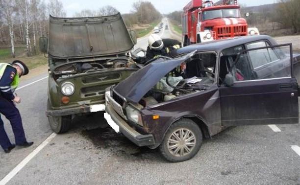 На трассе «Крым» в результате ДТП пострадала годовалая девочка