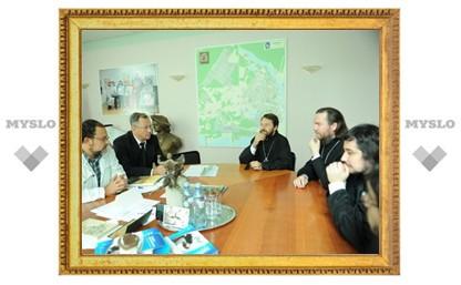 Митрополит Иларион встретился с руководством города Нарвы