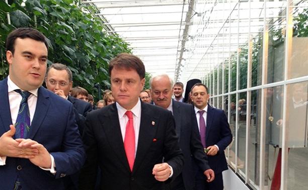 Губернатору Тульской области понравились новомосковские овощи