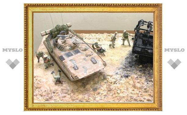 Тулякам покажут танки и корабли времен войны